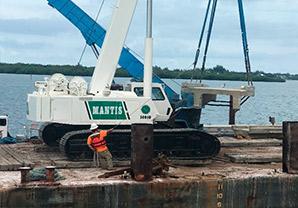 Wabasso Causeway Fishing Pier Demolition